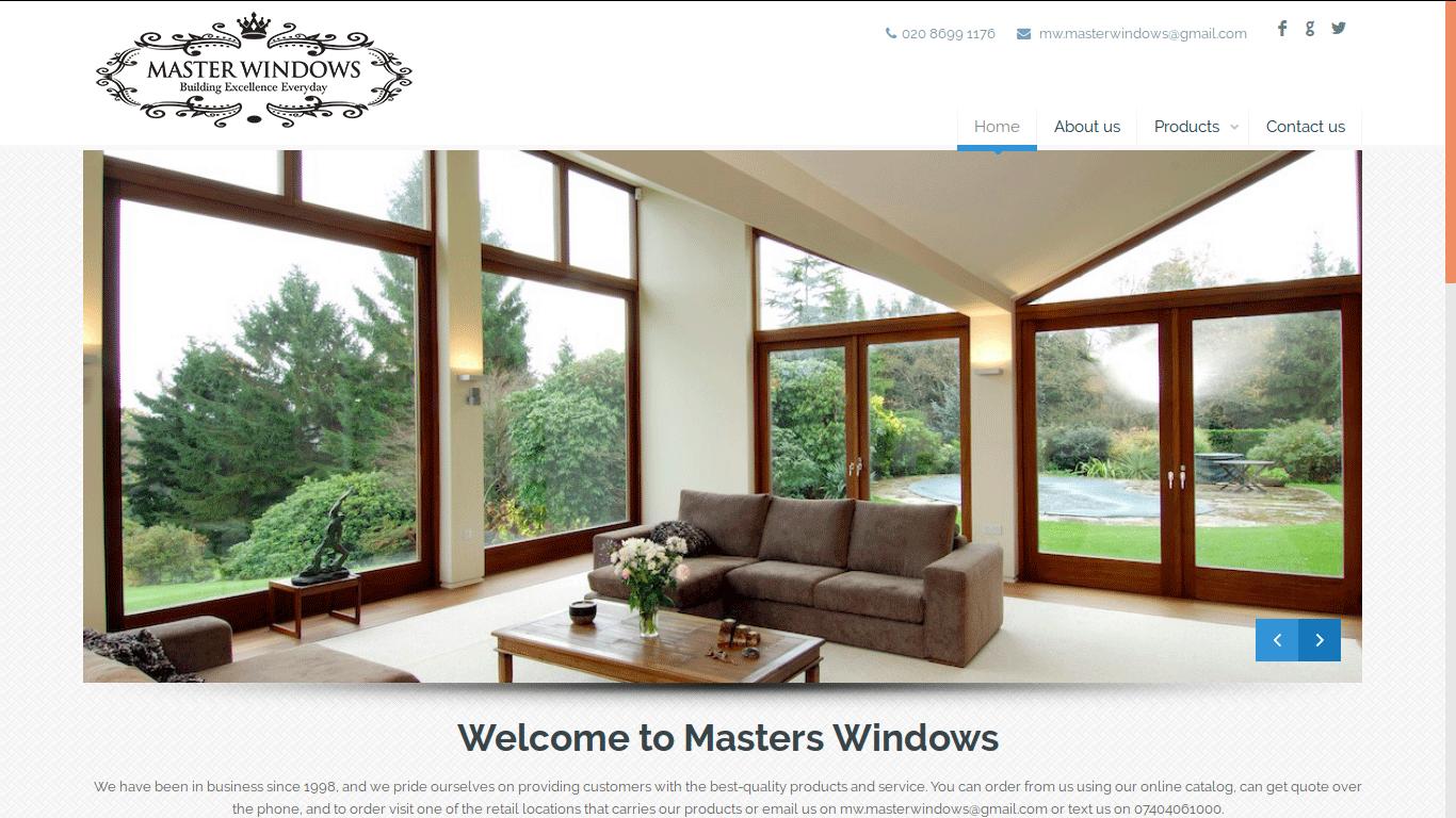 Masters Windows Design Development